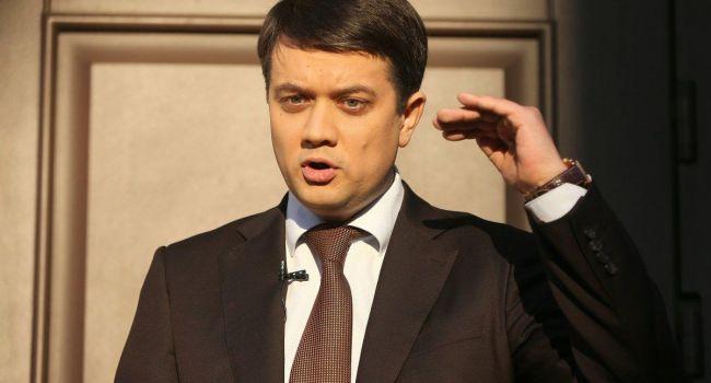 «Закон об особом статусе Донбасса начнет действовать»: Разумков рассказал, когда это произойдет
