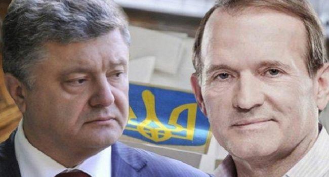 Порошенко и Медведчук могут вести совместную игру против Зеленского — Доний