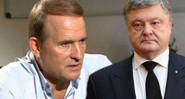 Порошенко и Медведчук являются любимыми персонажами Кремля, но они не смогут поднять украинский народ на борьбу с нынешней властью - мнение