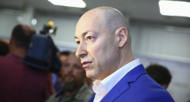 Гордон: сказал в глаза Зеленскому – вернуть сегодня Донбасс – это подорвать всю Украину изнутри