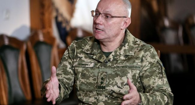 Глава Генштаба Хомчак назвал одно из наиболее уязвимых мест в Вооруженных силах Украины