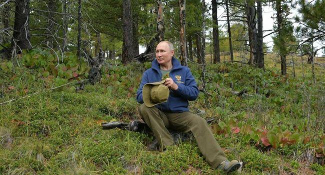 «Съёмочная группа, повар, десяток офицеров»: Шнуров высмеял отдых Путина в тайге