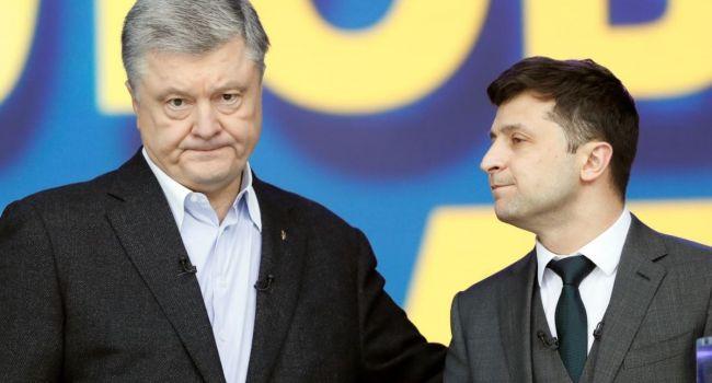 Зеленский назвал ошибку Порошенко - думает, что через протесты может вернуться к власти