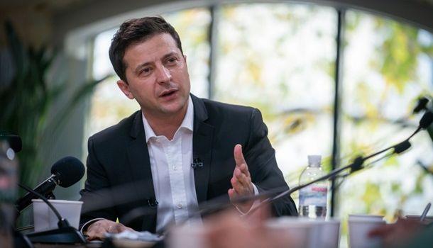 «Девочку буду защищать»: Зеленский прокомментировал конфликт Мендель с журналистами