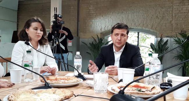Немногим более 130 тысяч гривен — журналисты подсчитали, сколько заплатил Офис президента за питание на пресс-марафоне