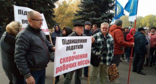Политолог: пока все наблюдали за пресс-марафоном, пропустили первый массовых протест «простых избирателей» Зе-команды