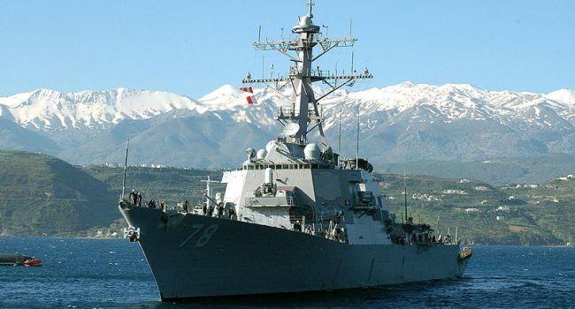 Американский эсминец, напичканный «Томагавками», снова в Черном море
