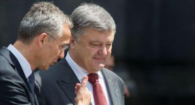 Столтенберг: говорил, говорю и буду утверждать, что в результате усилия Порошенко приведут Украину в НАТО
