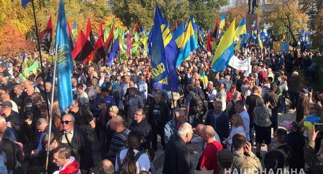 Дроздов: «Нет – капитуляции» – акции против Зеленского, а не за Донбасс