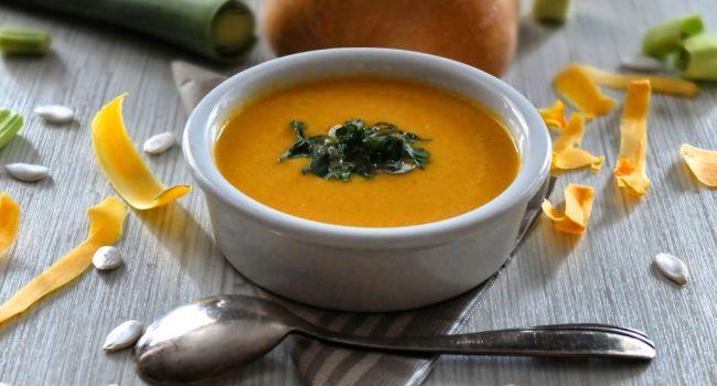 Самые лучшие блюда осени: Рецепт супа-пюре из тыквы