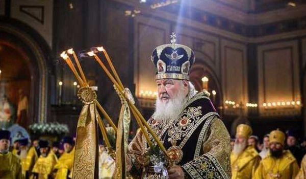 «Группировка раскольников»: патриарх Гундяев раскритиковал Украину из-за ПЦУ