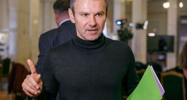 «Мы не входим в коалицию»: Вакарчук заявил, что его политическая сила не боится повторить судьбу «Самопомичи»