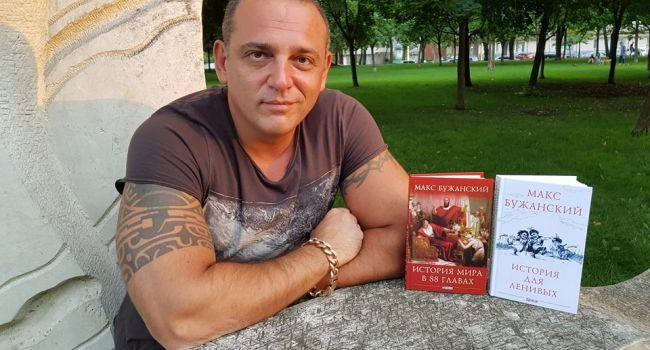 «Хочу подарить свою книгу, но нужен торжественный повод»: Бужанский мечтает прийти на санкцию к Порошенко