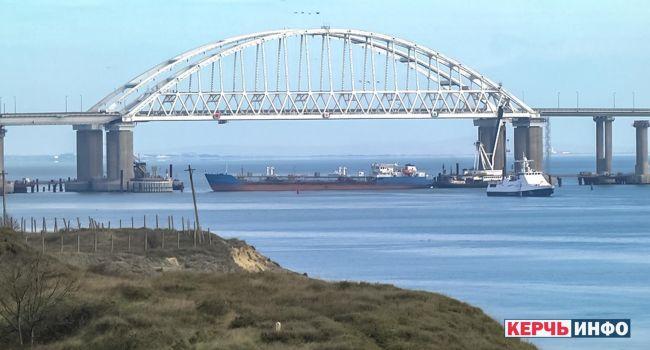 Россия закрывает Керченский пролив для кораблей