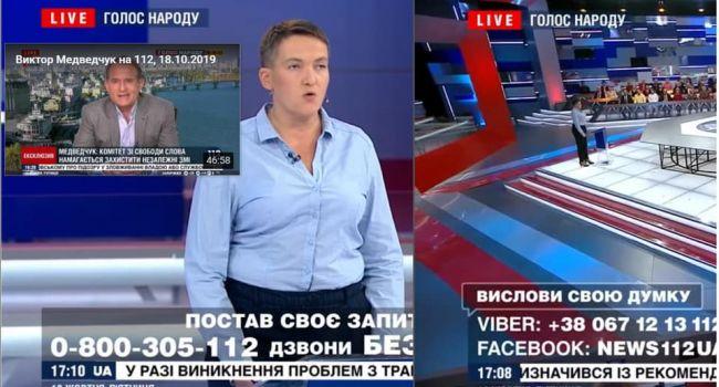 Савченко вывели в ранг спикеров Медведчука, чтобы унизить украинцев, поучая их жизни