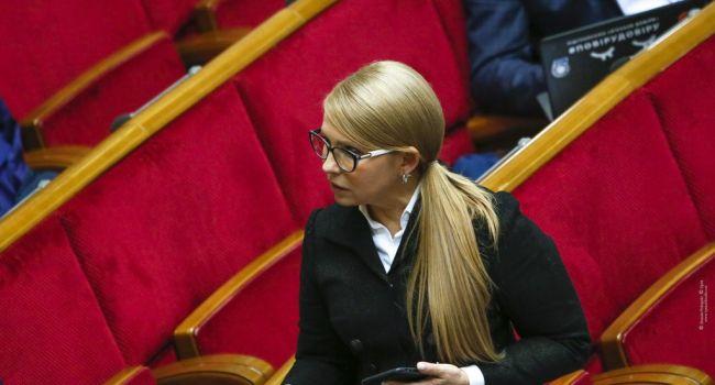 Сазонов: пока Тимошенко с компанией не прогонят – завтрашнее дно неизбежно