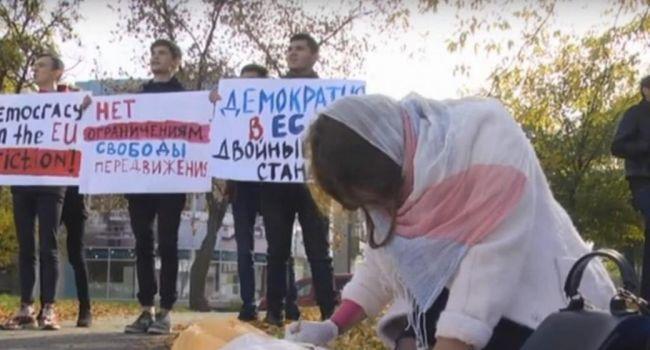 «Хотят в «гейропу» мыть туалеты»: Жители Луганска бунтуют из-за нежелания ЕС выдавать Шенгенские визы россиянам в «ЛНР»