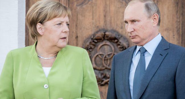 Переговоры Путина и Меркель по «Нормандской четверке» и транзиту газа: Кремль выставил условия
