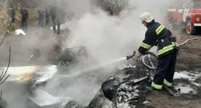 Падение вертолета: В авиакатастрофе погиб бывший министр аграрной политики