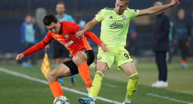 «Шахтер» вырывает ничью в матче Лиги чемпионов с загребским «Динамо»