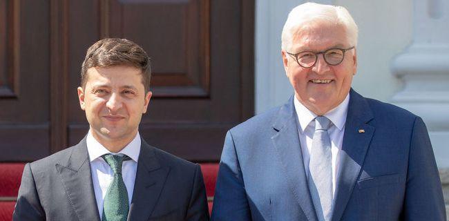 Зеленский и Штайнмайер провели важную встречу по Донбассу