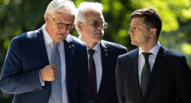 «Сказал ему, что …»: Зеленский раскрыл подробности разговора с Штайнмайером