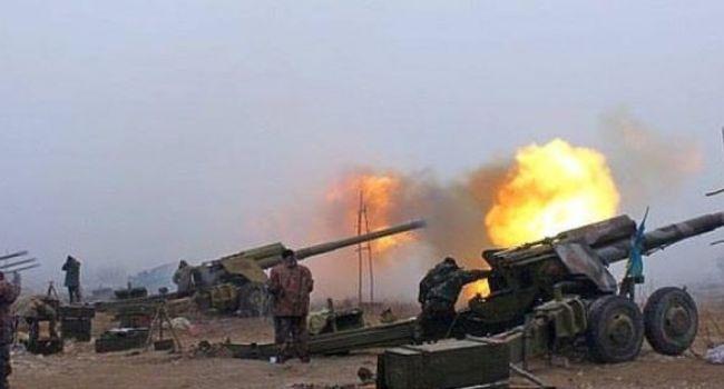 Боевики встречали Зеленского на Донбассе тяжелой артиллерией