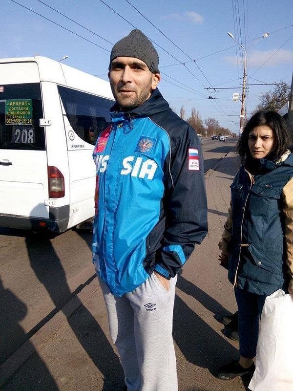 В Кривом Роге сепаратист набросился на женщину, разговаривавшую на украинском языке