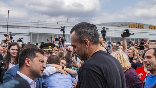 «Короля делает свита»: Олег Сенцов высказал своем мнение относительно президентства Владимира Зеленского