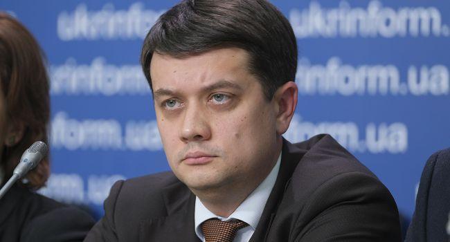 «Дискуссии бывают достаточно жесткими»: Разумков рассказал о непростых отношениях с Богданом