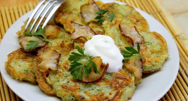 Лучшие блюда осени: Картофельные оладушки с грибами