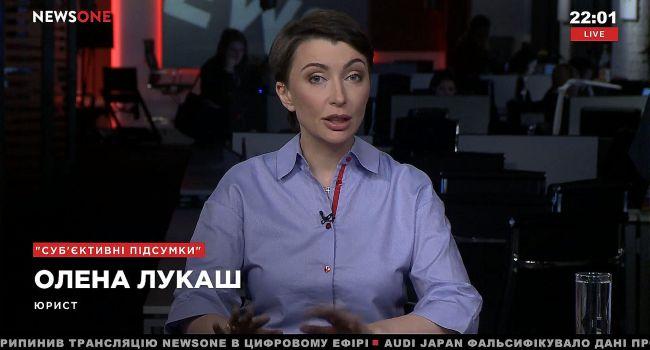 Елена Лукаш: Янукович бежал в Ростов не только от чужих, но и от своих