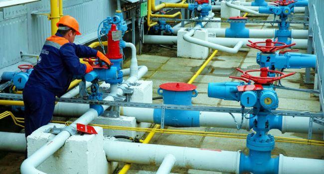 Украина начала отбор «голубого топлива» из ПХГ