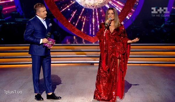 Наталья Могилевская в прямом эфире на всю страну призналась в любви и спела новую песню