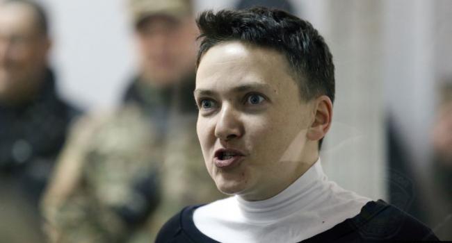 «Не будь лохом»: Надежда Савченко обратилась к президенту Зеленскому