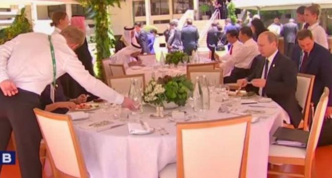 Глузман: В Австралии Путина посадили за отдельный столик, как садят под нары гомосексуалиста в камере