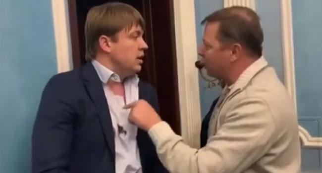 «Красиво драться не запретишь»: На «поединок» с Герусом Ляшко пришел в куртке-бомбере стоимостью более 160 тысяч гривен