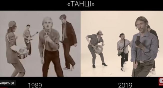 Дорн, Остапчук та Шабанов переспівати хіт групи «ВВ» та перезняли на пісню «Танці» кліп