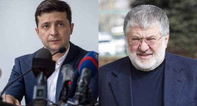 «Выбор очень простой»: В «Движении сопротивления капитуляции» заявили, что либо Зеленский избавится от Коломойского, либо Украина избавится от них обоих