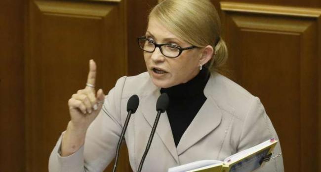 «Мы идем в оппозицию»: Власть уничтожает Украину – Тимошенко