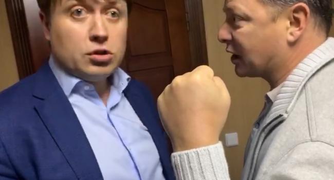 «Народ скоро начнет отлавливать «слуг», чтобы надавать им тумаков»: Марченко указал на диссонанс между формой и содержанием партии Зеленского