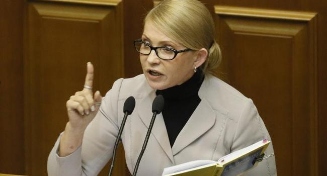 «Тактические игры закончились»: Фесенко заявил, что Тимошенко вышла на тропу войны