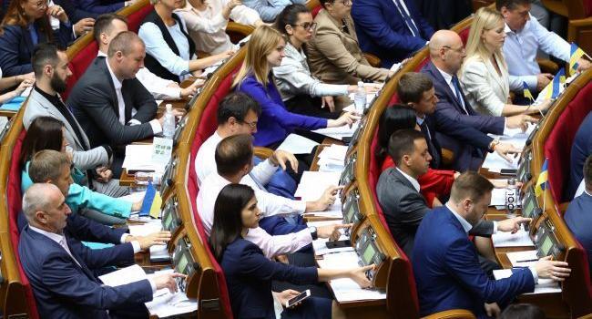 Блогер: или платите народным депутатам 5 000 долларов официально, или продолжайте тешить себя иллюзиями, что олигархи платят депутатам