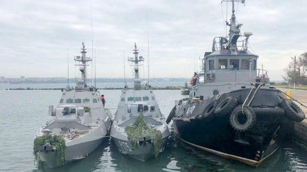 Кремль готов передать Киеву захваченные корабли ВМС ВСУ