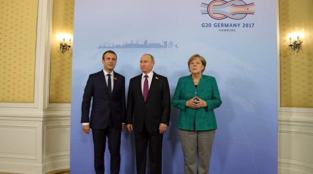Зеленский, Путин, Макрон и Меркель согласовали дату саммита «Нормандской четверки»