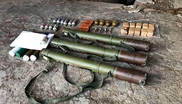 На Донетчине найден тайник с боеприпасами – пресс-служба ООС