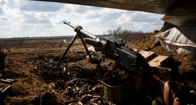 Ситуация на Донбассе: В пресс-центре ООС рассказали об обстрелах и масштабных потерях террористов