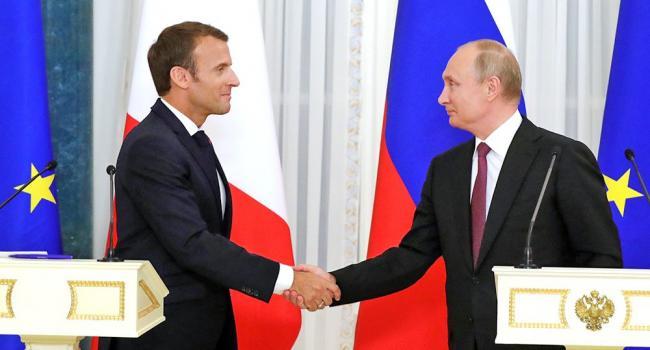 Аналитик: Макрон заверил Путина, что Украина подпишет все, что нужно, потому и появился анонс «Нормандского формата»