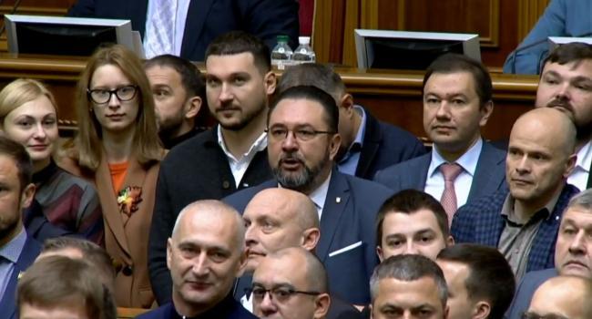 Сазонов: в «Слуге народа» используют те же методы, что и в Партии регионов вместе с Коммунистической партией