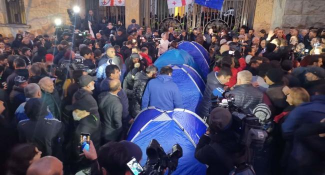 Начинается новый Майдан: в столице Грузии разгорелись акции протеста